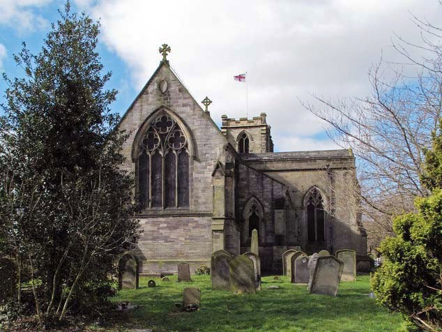 S_All Saints Church Hurworth on Tees